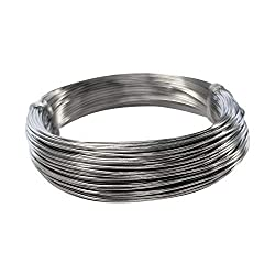 Kids B Crafty 1mm Galvanised Wire Craft 30 Metres for Florist Modelling Garden Vine Plants Support Mod ROC Crafts