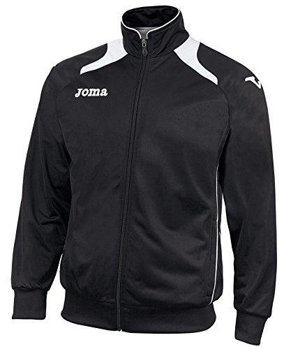 JOMA CHAMPION JACKET Uniforms FELPA NEGRO-BLANCO