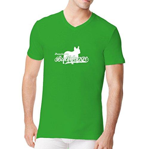 Im-Shirt - Hunde-Motiv: Französische Bulldogge (weiß) cooles Fun Men