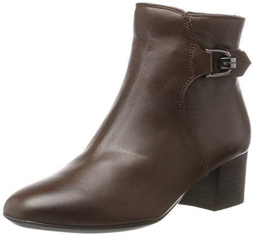Stonefly Damen Lory II 3 Calf Chelsea Boots, Braun (Ebano 1a01), 37 EU (Heel Nappa Boot Ankle High)
