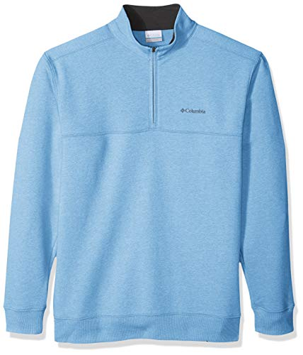 Columbia Herren Hart Mountain II Big & Tall Half Zip Pullover, Yacht Heather, 1X