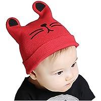 Uomini Ragazzi Moda Autunno Inverno Gatto Cappello A Maglia Bambino