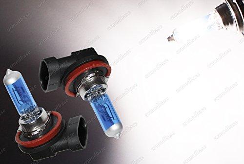 2 x H8 35 W PGJ19-1 weiß Xenon Gas HID LOOK Angel Eyes Leuchtmittel (Nissan Halo-scheinwerfer)