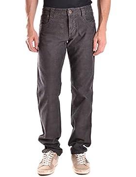 Bikkembergs Hombre MCBI042095O Gris Algodon Jeans