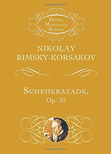 Scheherazade op. 35 (Miniature Score, From the Dover Miniature Score series.): Taschenpartitur für Orchester -