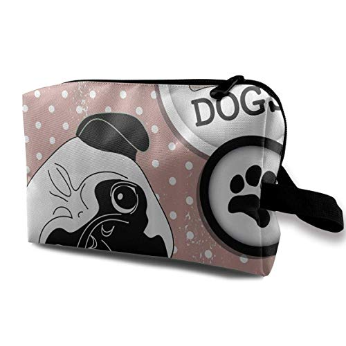 Reise-hängende Kosmetiktaschen I Love Dogs with A Paw Multi-Functional Toiletry Makeup Organizer designer makeup bag -
