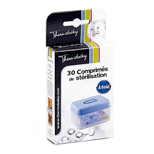 THERMOBABY Boite de 30 Comprimes de Stérilisation à Froid Blanc