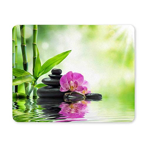 Gaming Mouse Pad, Maus - Pads orchideen - Stein und Wasser - Mousepad - Design - Mousepad