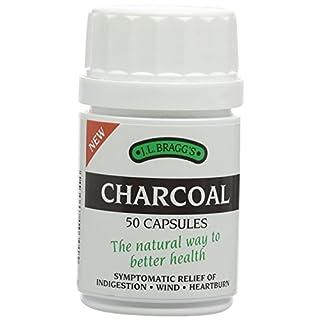 J.L. Braggs - 50 Charcoal Capsules - 15g