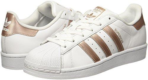 Adidas Superstar Damen Sneaker Weiß - 4