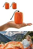 ACVCY Emergency Sleeping Bag, Lightweight Waterproof Thermal Emergency Blanket Survival Gear, Bivy Sack