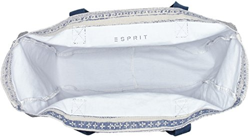 Esprit 027ea1o066, Sacs Portés Épaule Femme, 13x46x48 cm Blanc (110 Off White)