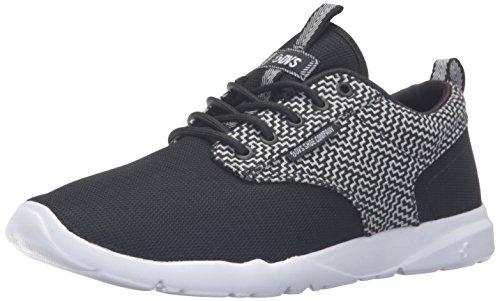 DVS Apparel - Premier, Sneaker Uomo Black White