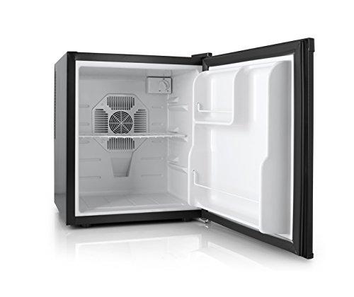 Orbegozo NVE 4500 B - Mini nevera eléctrica de 38 litros de capacidad, potencia de 70 W, luz interior LED, control de temperatura ajustable y sistema No Frost, negro