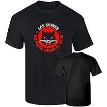 Camiseta LOS SUAVES rock español algodon calidad 190grs