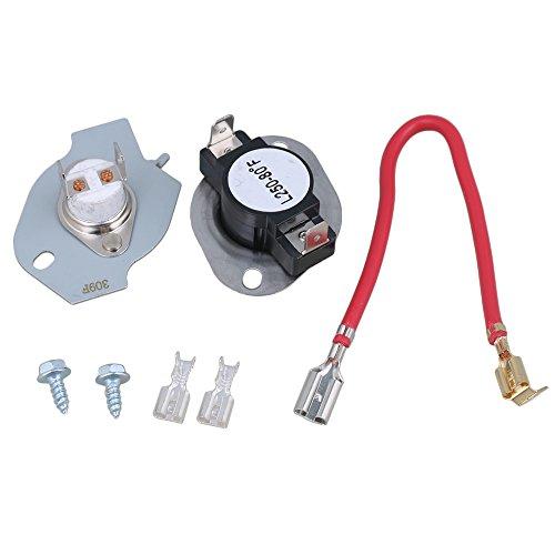 BQLZR N197lavadora termostato Cartucho fusible kit de repuesto parte para Whirlpool Kenmore...