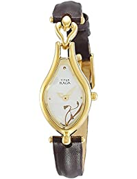 Titan Raga Analog Multi-Color Dial Women's Watch -NK2457YL01