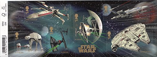 2015 Star Wars Miniature Sheet No. 113 with Barcode - Royal Mail Stamps by Royal Mail (Star Wars Miniatures Jedi)