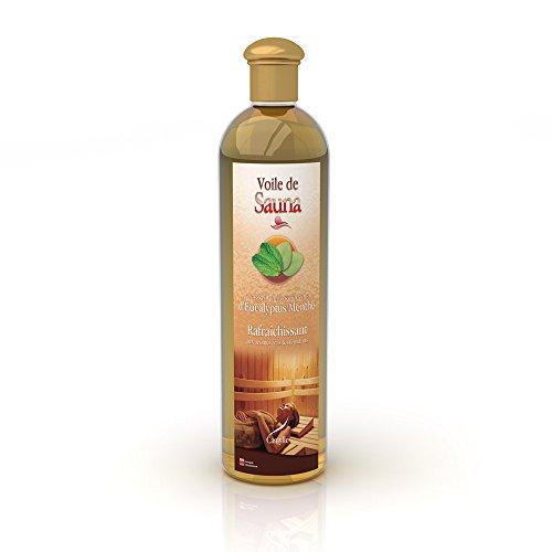 Preisvergleich Produktbild Camylle - Voile de Sauna - Saunaduft aus reinen ätherischen Ölen – Euka / Minze - Erfrischend – 500ml
