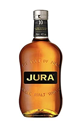 The Isle Of Jura 10 Year Old Origin Single Malt Scotch Whisky 20cl Quarter Bottle