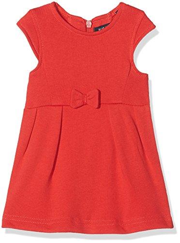 BLUE SEVEN Baby-Mädchen Kleid 963010 X 5 Rot (Hochrot Orig 332), 86