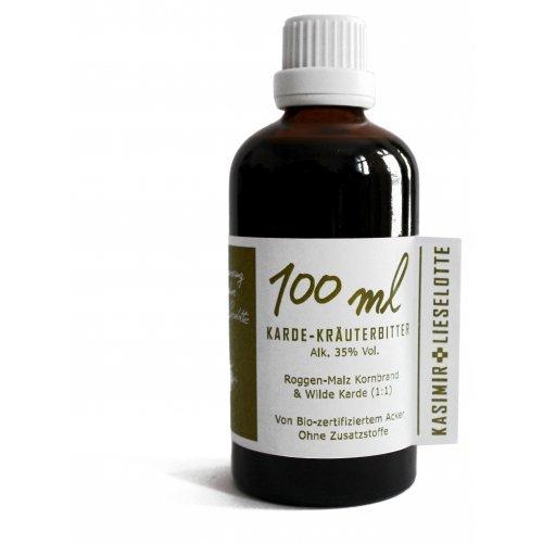 Kardenwurzel Tinktur 100 ml - gewachsen auf Bio zertifiziertem Acker in Brandenburg