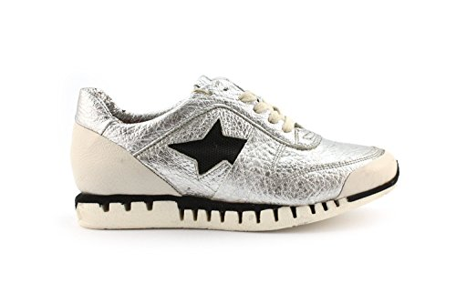 Sneaker A.S.98 972101 Aregento/Bianco/Nero - Size:37