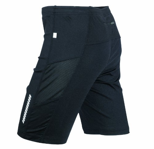 James & Nicholson Herren Sport Legging Running Short Tights schwarz (black) X-Large (Herren Tight Running Shorts)