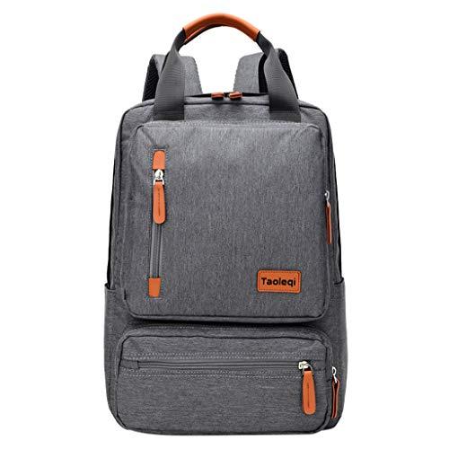 Damenrucksack Modetasche Wasserdichter Hochschulrucksack Multifunktionale Herrenhandtasche Laptoptasche mit großer Kapazität Outdoor-Wanderrucksack (Color : Blue, Size : One Size),
