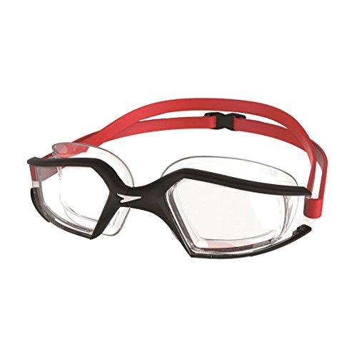 Speedo Erwachsene Schwimmbrille Aquapulse Max 2 Black Clear, One size