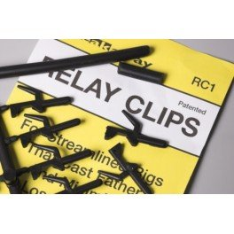 Accroche Appats Relay Clips par 10 pcs - BREAKAWAY