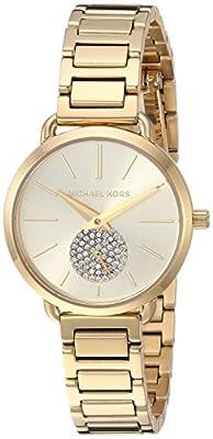 Michael Kors Relojes para Mujer Portia Gold-Tone Reloj