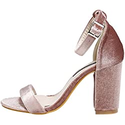 cooshional Damen Sandalette Sandalen High Heels Pumps