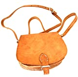 Antique Genuine Leather Marokanische Shoulder Bag Handmade Leather Bag