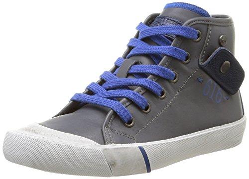 Ikks - Karron, Sneakers per bambini e ragazzi, grigio (vte gris/bleu dtx/vulca), 28