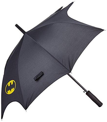 Batman Fledermaus, Spannweite - 0122124 Regenschirm Circa 104 cm, Schwarz