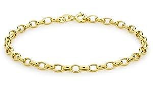 Carissima Gold Damen-Armband 9 Karat (375) Gelbgold 19cm