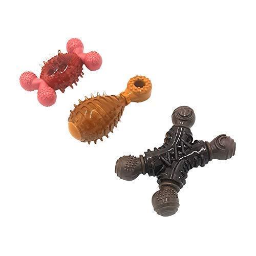 6 X Offiziell Lizenziert Schokolade Hähnchen Speck Geschmacksrichtungen Geschmack Geruch Hund Welpe Robust Haustier Spielzeug Kauknochen -