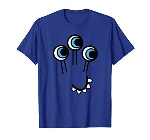 Süßes Monster T-Shirt Ungeheuer Kostüm Verkleidung Monster T-Shirt