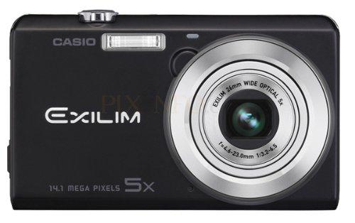 Casio Exilim EX-ZS15 Digitalkamera (14 Megapixel, 5-fach opt. Zoom, 7,6 cm (3 Zoll) Touchscreen, HD-Video) schwarz -