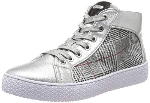 bugatti Damen 432525385969 Hohe Sneaker, Silber (Silver/Multicolour 1381), 39 EU -