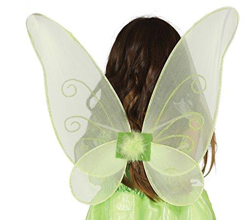 Guirca Fiestas GUI16362 - grüne Schmetterlings-Flügel, 46 ()