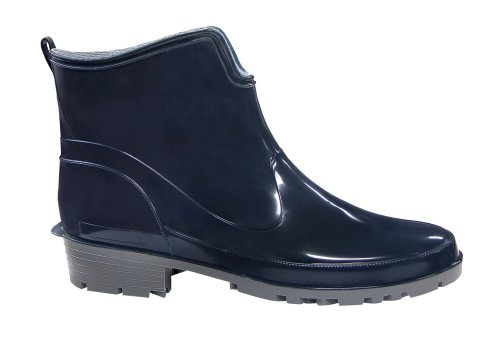 Lemigo Womens Ankle Rubber Wellington Boots Elke 930