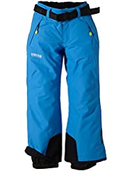 8848 Altitude Hose Inca Junior Pants - Pantalones de esquí para niño, color rojo, talla 130