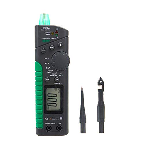 Gtest DY2203 Digital Automotive Circuit Tester Multifunktion Automotive Tester Multimeter Logic Level Test Car Circuit Breaker Finder -