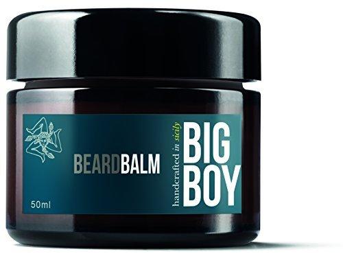 Big Boy Styling Balm Bartpflege mit Sheabutter und Süßmandelöl bändigt selbst spröde Haare, 50 ml