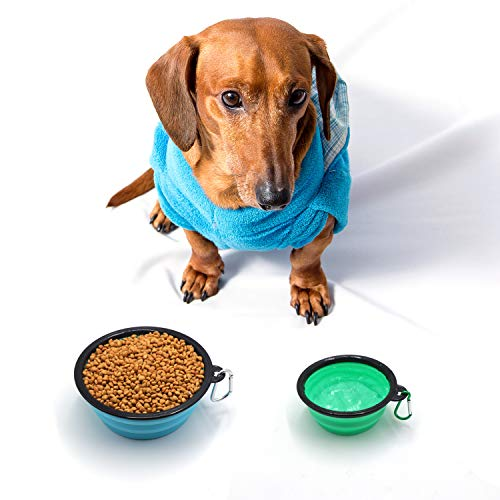 Zoom IMG-1 fretod ciotola pieghevole per cani