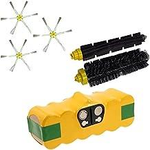 Batería 4500mAh extra Duración + Kit Cepillos para iRobot Roomba serie 700701702703704705706707708709710711712713714715716717718719720721722723724725726727728729730731732733734735736737738739740741742743744745746747748749750751752753754755756757758759760761762763764765766767768769770771772773774775776777778779780781782783784785786787788789790791792793794795796797798799garantía JSD