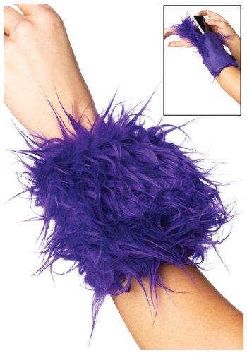 Leg Avenue A2007 - Fellhandarmband mit Tasche, (Kostüme Leg Monster Avenue)
