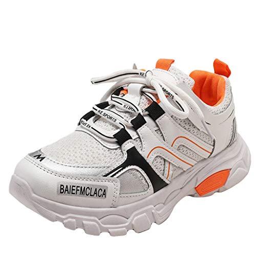 POLPqeD Donna Chunky Sneakers Sportive Scarpe Comodo Casual Antiscivolo Traspirante e Leggero per Camminata Corsa Trail Running Ciclismo Badminton Cheerleader Fitness